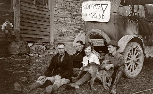 Smoky Mountains History: Hiking Club