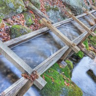 Along the Roaring Fork: New Flume for the Mill