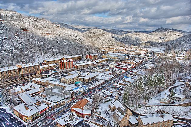 Wordless Wednesday: Snowy Gatlinburg