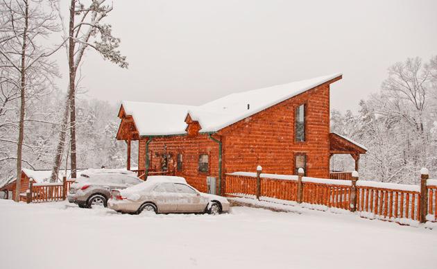 White Christmas in Gatlinburg!