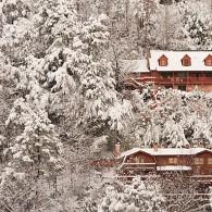 Chalet Village after Snow