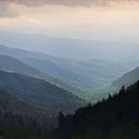 Moody Mountain Monday Morning