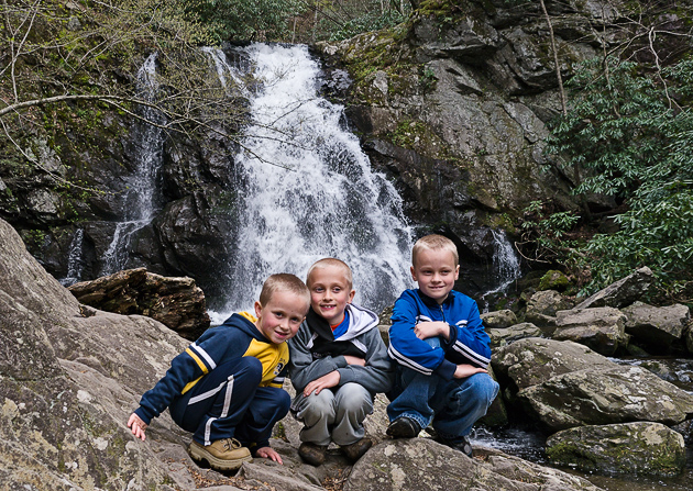Waterfall and Wildflower Walk