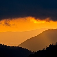 End of another Smoky Mountains Day