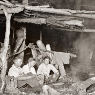 Smoky Mountains History: Dutch, Harvey and Luther make Camp
