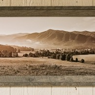 New Black and White Panoramas in the Gatlinburg Gallery